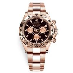 Rolex Cosmograph Daytona 116505 Black and Pink Index