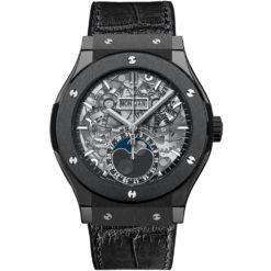 Hublot Classic Fusion Aerofusion Moonphase 45mm Mens Watch 517.cx.0170.lr Black Magic