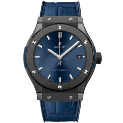 Hublot Classic Fusion Automatic 42mm Mens Watch 542.cm.7170.lr Ceramic Blue