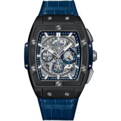 Hublot Spirit Of Big Bang Chronograph 42mm Mens Watch 641.ci.7170.lr Ceramic Blue