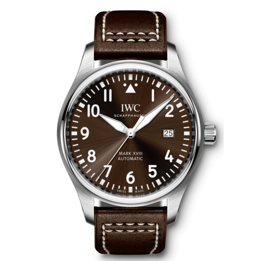 IWC Pilot Mark XVIII Edition Automatic Brown Dial Watch IW327003
