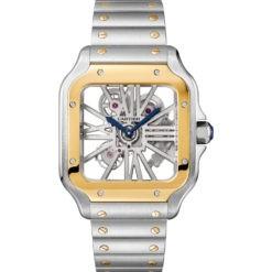 Cartier Skeleton Horloge Santos LM WHSA0019