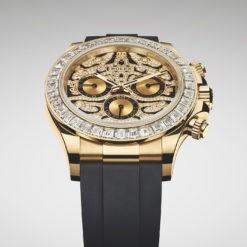 Rolex Cosmograph 116588TBR Daytona Eye of Tiger Chronograph Automatic Chronometer Diamond Watch