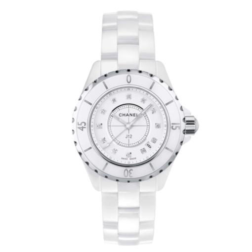 Chanel J12 Diamonds Ladies Watch H1628