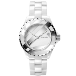 Chanel J12 White Dial Unisex Watch H5582
