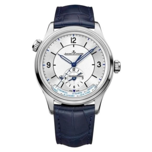 Jaeger LeCoultre Master Geographic 39mm Mens Watch 1428530