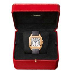 Cartier Santos de Cartier WGSA0019 Pink Gold Watch