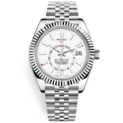 Rolex Sky-Dweller 326934 White Index 42mm Jubilee Bracelet Watch