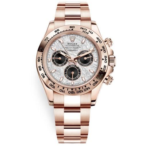 Rolex Cosmograph Daytona 116505 Meteorite Dial Everose Gold Watch
