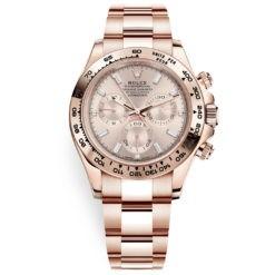 Rolex Cosmograph Daytona 116505 Baguette Dial Everose Gold Watch