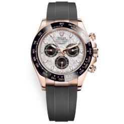 Rolex Cosmograph Daytona 116515ln Meteorite Dial Oysterflex Everose Gold Watch