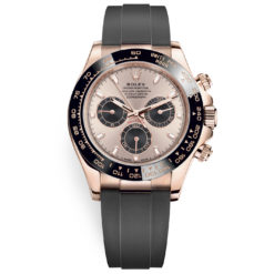 Rolex Cosmograph Daytona 116515ln Sundust Dial Oysterflex Everose Gold Watch