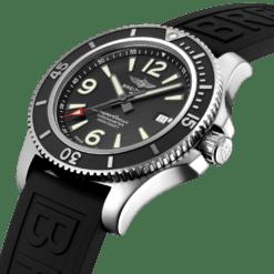 Breitling Superocean A17367D71B1S2 Steel Rubber strap Watch
