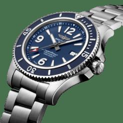 Breitling Superocean A17367D81C1A1 Blue Dial Steel Watch