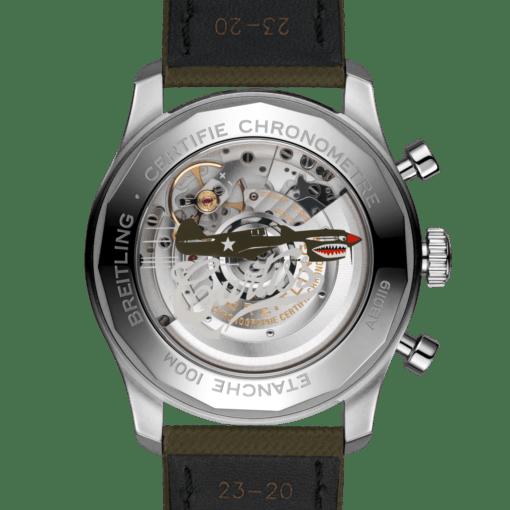 Breitling AB01192A1L1X1 Aviator 8 B01 Chronograph 43 Curtiss Warhawk Watch