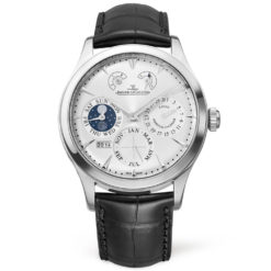 Jaeger LeCoultre Q1618420 Master Eight Days Perpetual Calendar Stainless Steel Watch