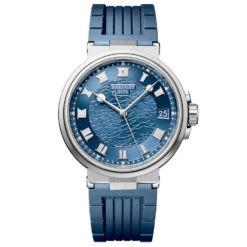 Breguet 5517BBY25ZU Marine Automatic Blue Dial Men's Watch