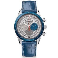 Zenith Chronomaster El Primero Skeleton Dia Leather Strap Watch 95.3002.3600/69.I004