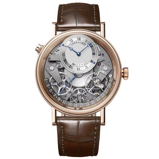 Breguet 7597BRG19WU Tradition Automatic Retrograde Date 40mm Men's Watch