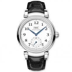 """IWC IW358101 Da Vinci """"150 Years"""" Automatic White Dial Men's Watch"""