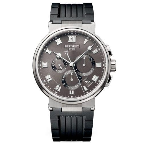 Breguet 5527TIG25WV Marine Chronograph Automatic 42mm Mens Watch